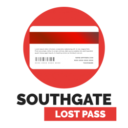 Southgate   Penalty (Lost Pass Card)